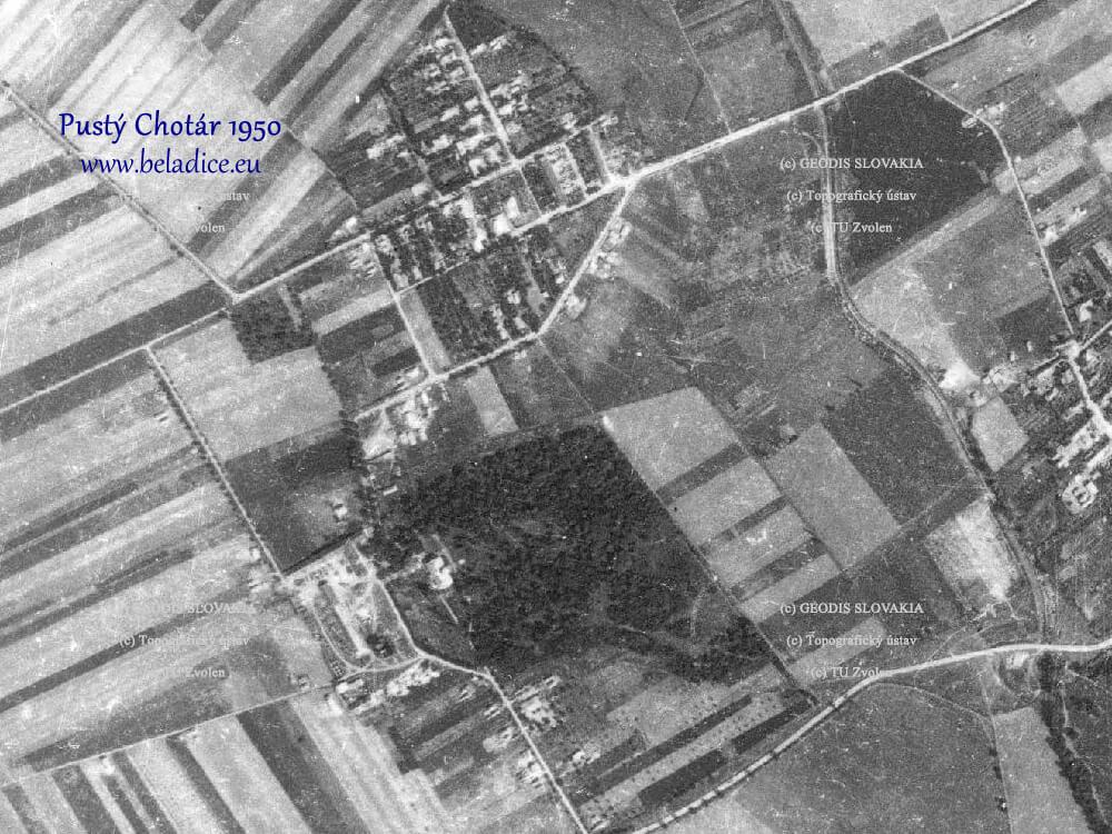 Pustý Chotár 1950